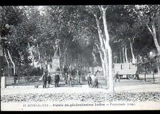 RIVESALTES (66) ROULOTTE de FORAIN animée , PROMENADE ARAGO en 1918