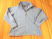 TRESPASS Outdoors Womens Baby Blue Full Zip Fleece Jacket UK L Large Very Good