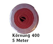 Schleifvlies Schleifvliesrolle K400 rot 5 m Rolle NEU
