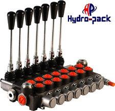 Hydraulikventil Handsteuerventil 40L Handhebelventil Monoblock 7-Heblig