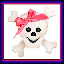 Sizzix Skull & Crossbones large die #655474 Cuts Fabric! RARE, Limited Quantity!
