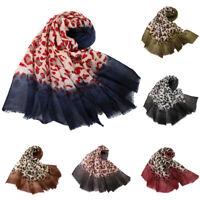 Muslim Women Hijab Long Scarf Shawls Islamic Headwrap Ladies Scarves Stole New