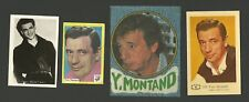 Yves Montand Actor Movie Film Star Fab Card Collection B