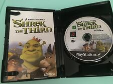PS2: Shrek the Third - PlayStation 2 - Game ** Disc and Manual Only **