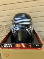 Brand Star Wars Kylo Ren 2-Piece Helmet Rubie Cosplay *RARE *DISNEY