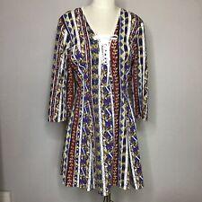 Vintage Young Edwardian Corset Dress USA Lg