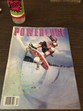 Poweredge Skateboard Magazine December 1989 Danny Way Gary Davis 12/89 Dec