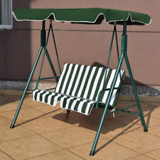 Patio Garden Bench Love Seat Cover Shade Swing Sofa Glider Hammock Green Stripes