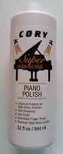 Cory Super High Gloss Piano Polish 32 oz refill size