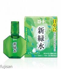 Rohto Shinryokusui Fresh Green Water Eye Drops 13ml Free Shipping