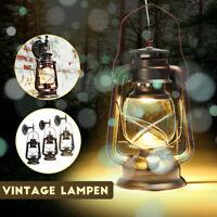 Retro Lanterna Applique Lampada Vintage Da Parete Muro Luce LED