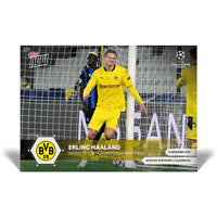Topps Now UCL 2020-21 - Card 022 - Erling Haaland - Borussia Dortmund