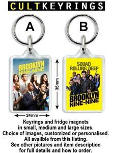Brooklyn Nine-Nine keyring / fridge magnet - Jake Peralta, Ray Holt, Brooklyn 99