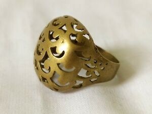 Ancient Ring Bronze Vintage-Antique Roman Style Old Artifact Extremely Rare Type