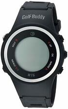 Golf Buddy WT6 Golf GPS WATCH Rangefinder Black NO CHARGER