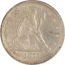 1875-S 20c Twenty Cent Silver