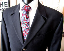 Gianni Versace Mauve Red Blue Pattern Silk Tie