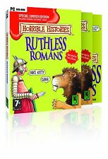 Horrible Histories: Ruthless Romans - Special Edition (PC-DVD) NEW