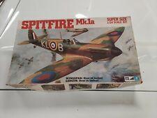 Vintage Mpc Spittfire Mk.1a 1/24 Model Kit Rare Open Box 2-3500