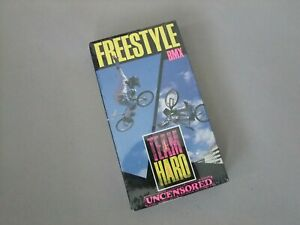 Rare Team Haro Freestyle BMX VHS Video - Features top BMX Riders