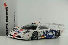1 18 Minichamps McLaren F1 GTR #43 24h le Mans 1997 fina
