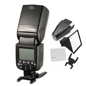 Godox TT685C 1/8000s TTL HSS 2.4G Flash Speedlite Flashgun +Gift fr Canon Camera