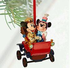 2016 Disney Mickey & Minnie Mouse Carriage ~ DISNEY SKETCHBOOK ORNAMENT ~