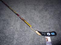 BROCK BOESER Vancouver Canucks SIGNED Autographed Hockey Stick w/ JSA COA