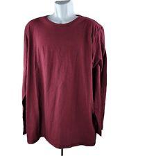 Urban Pipeline Adaptative Manche Longue T-Shirt XXL Rouge Bordeaux