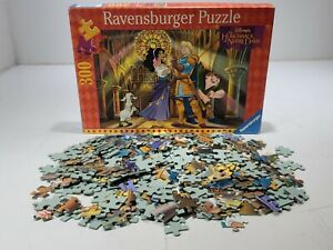 Vintage 90s Ravensburger 300 Piece Puzzle Hunchback of Notre Dame 49x36 cm