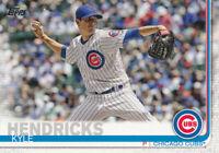 Kyle Hendricks 2019 Topps Series 1 #171 Chicago Cubs baseball card