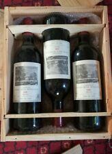 3 bottles of Chateau Duhart Milon Rothschild 1981 Grand Cru Classe!