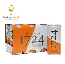 24 DOSEN 1724 Premium Tonic Water aus Chile - 24 x 200ml - INKL. 6,00€ PFAND