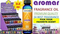 (BUY 3, GET 1 FREE) AROMAR😍PREMIUM QUALITY FRAGRANCE 100% ESSENTIAL OIL 2.2 oz