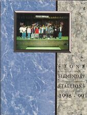 Elementary School Yearbook Stone Mountain GA Stone Mill School 1999