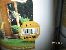 Langzeit-Lasur 2 in 1 Holzlasur 5 Liter  für Außen div. Farben
