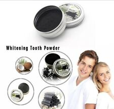 Natural Whitening Tooth Teeth Gum Powder Coconut Charcoal Toothpaste 100% Vegan
