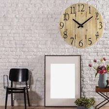 style campagnard Horloge murale temps Anzeiger BOIS DESIGN couloir décoration