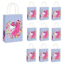 Pony Birthday Party Bags Kids Girls Baby Goodies Printed Paper Toy Favors Bag UK 22