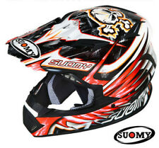 Motorcycle Helmet Cross SUOMY Rumble Eclipse Red S SMALL Off Road Casque Motard
