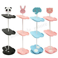 4 Tiers Cute Kids Shoes Rack Stand Space Saving Removable Organizer Shelf Holder