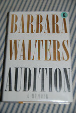 Audition : A Memoir by Barbara Walters (2008, Hardcover) -- Ex-Library