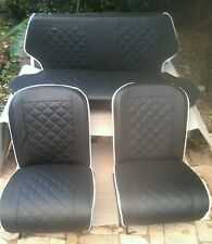 Kit  completo tappezzeria sedili anteriori e posteriori della Fiat 500  d.f.l.r.