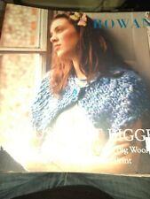 Rowan Big Just Got Bigger 30 Pattern Designs Big Wool, Chunky Print, Biggy Print