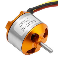 A2212 2200KV 6T Brushless Motor Outrunner For RC Aircraft Quadcopter Helicopter