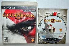 God of War III (Sony PlayStation 3, 2010) GOW 3 PS3 Complete Video Game