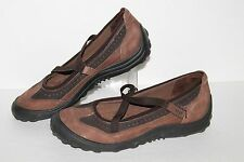 Lands End Mary Jane Casual Shoes, #305932, Browns, Women's US Size 6