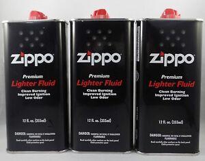 Zippo Lighter Fluid 12OZ. (3 Packs)