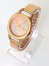 Esprit Damen Uhr Fayne rosé gold Edelstahl Datum elegant ES107932003