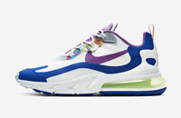Nike Men's Air Max 270 React Easter Shoes NEW AUTHENTIC White/Blue CW0630-100